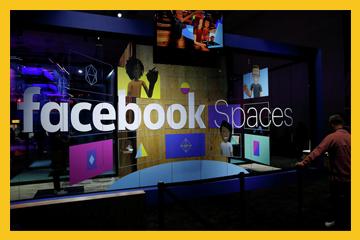 Facebook, sanal gerçeklik platformunu tanıttı